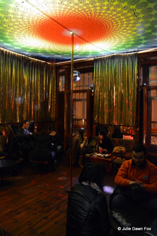 Pole dancing room, Pensão Amor, Lisbon