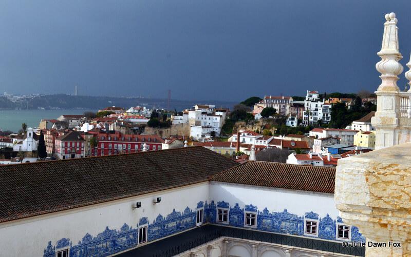 View from São Vicente da Fora Monastery, Lisbon
