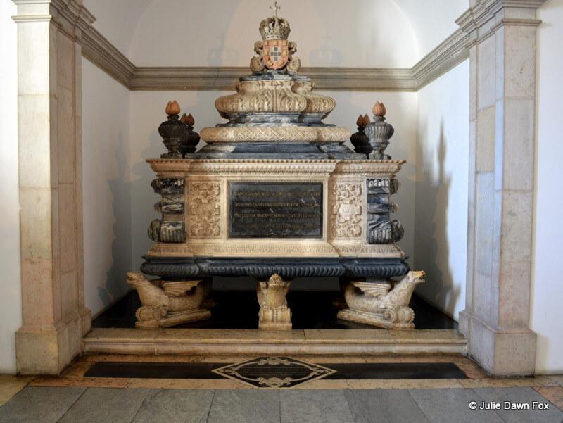 Marble tomb of Dom João IV, São Vicente de Fora Monastery