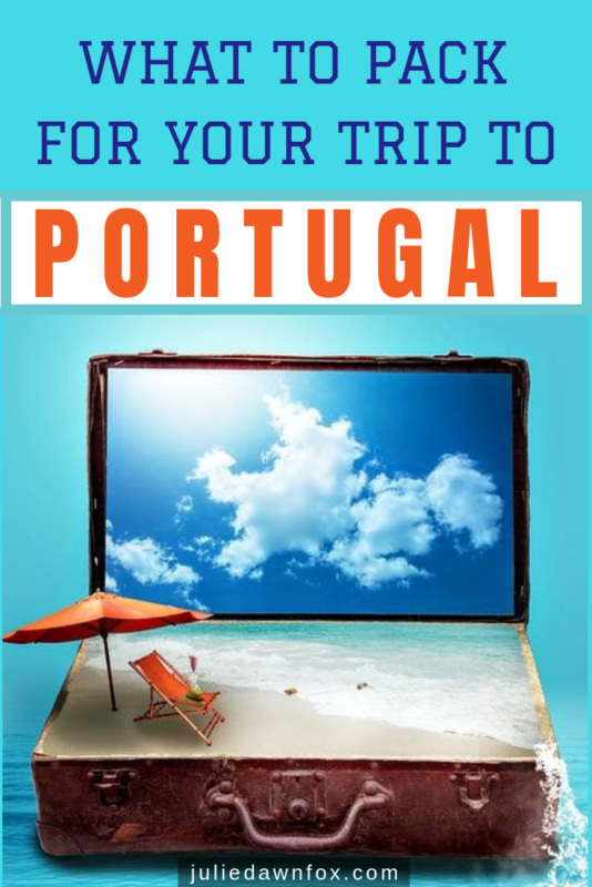 Beach in a suitcase. Indispensable Guide To Packing For A Trip To Portugal