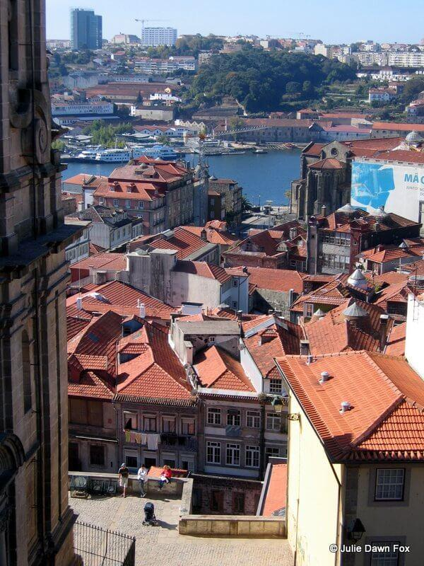 View of Porto from near the cathedral.