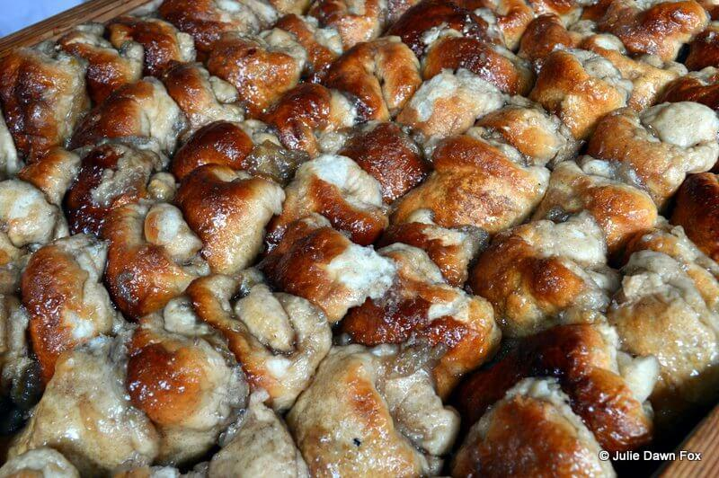 Cinammon and honey bread