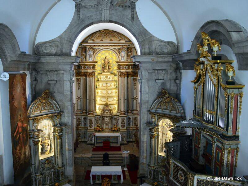 Organ and alterpiece, Igreja de Misericordia, Viseu