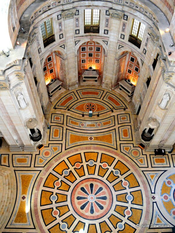 National Pantheon, Lisbon, Portugal. From above.