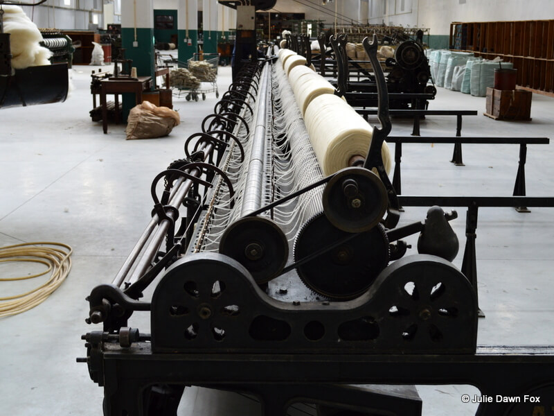 Wool machine, Burel factory, Manteigas, Portugal