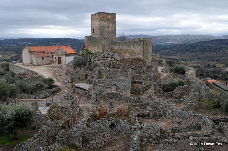 Inside the citadel, Marialva