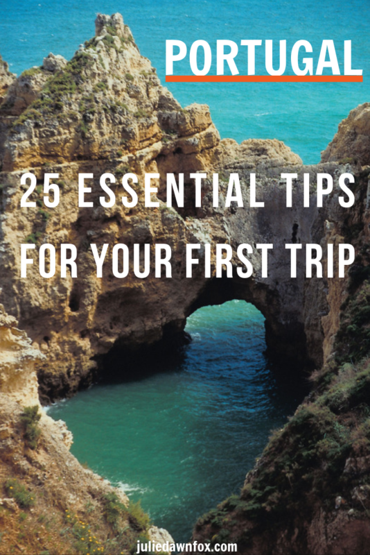 Sea caves. Portugal is undoubtedly one of the most beautiful countries in Europe, and these 25 tips will tell you all you need to know for your first trip there. Just some areas covered are: when to go, what to pack, money matters - including where to find discounts - and what to expect when you're eating out.