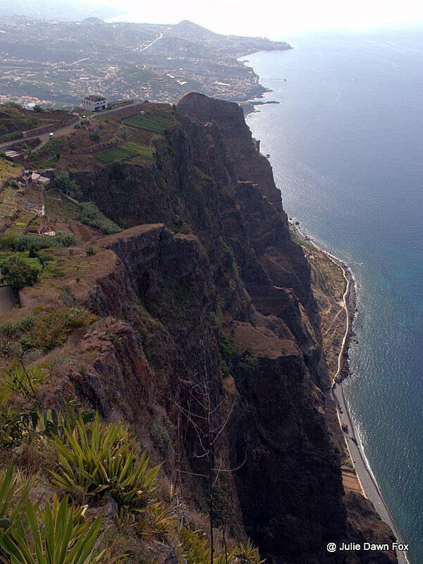 Cliffs, Cabo Girão, Madeira