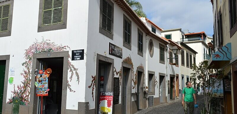 Historical zone, Funchal, Madeira