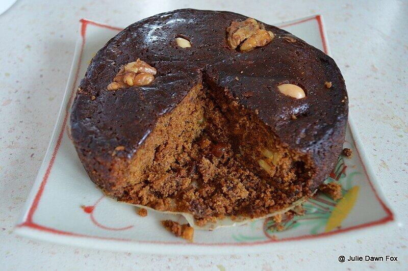 Madeira cake, bolo de mel de cana
