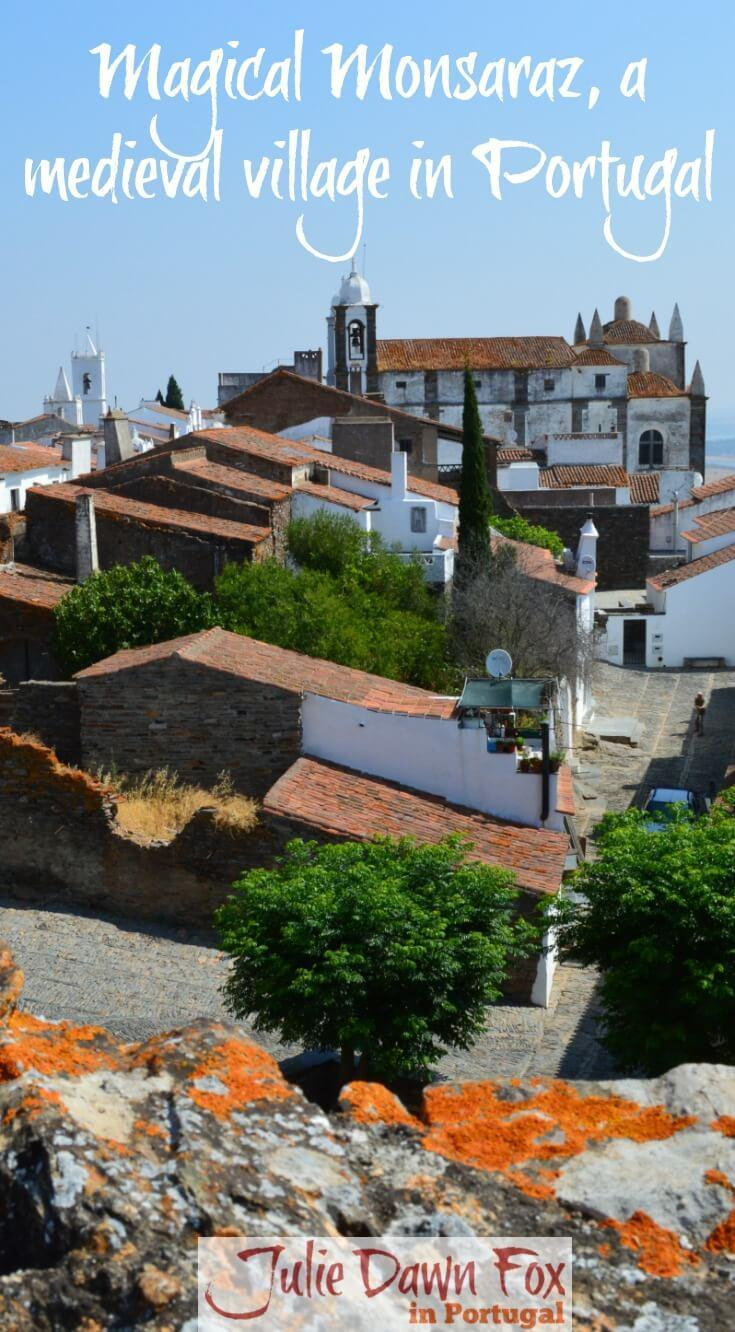 Medieval village of Monsaraz, Alentejo, Portugal