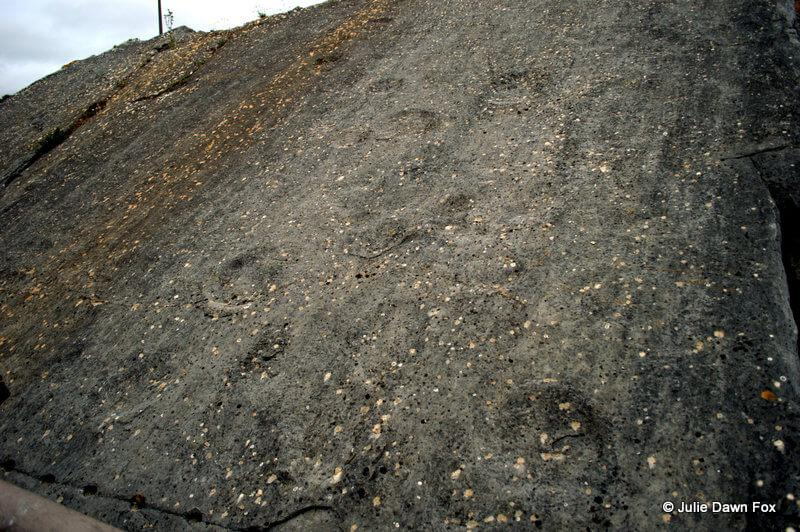Dinosaur footprints, Sesimbra