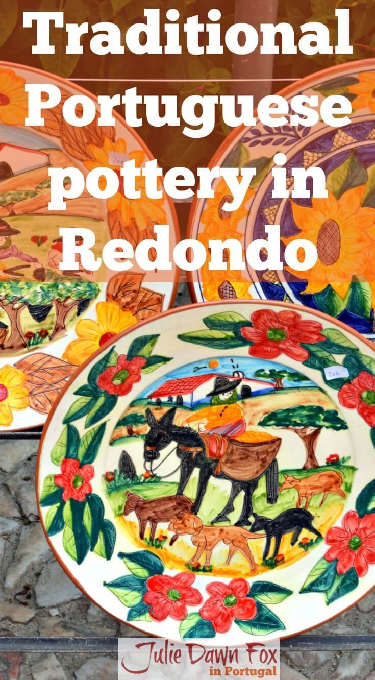 Traditional Portuguese pottery in Redondo, Alentejo, Portugal