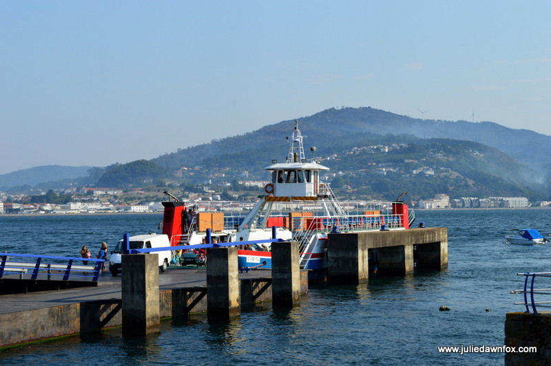 Ferry boat to Caminha. Photography by Julie Dawn Fox