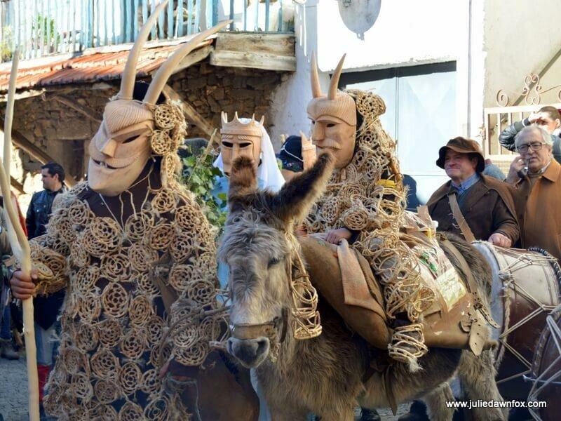 Entrudo festivities, Lazarim, Portugal