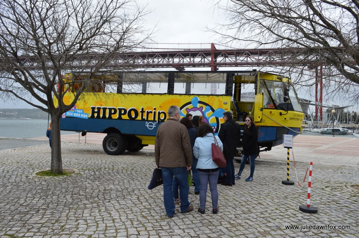 First come, first seated. HippoTrip, Lisbon