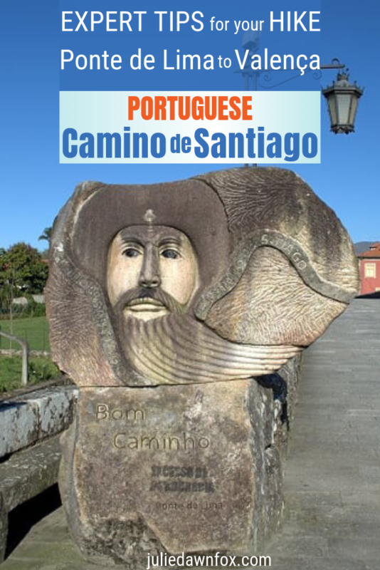 Stone sculpture. What's it like to walk the Way of St_ James between Ponte de Lima and Valença_ Find out in this post_