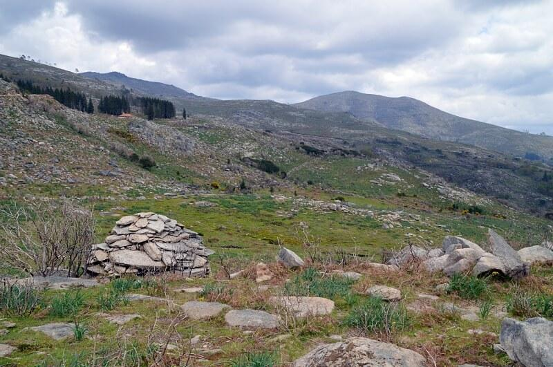 Stone shelter for shepherds, Peneda-Gerês National Park