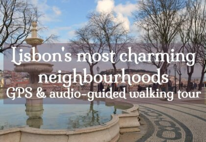 Lisbon neighbourhoods GPS audio-guided walking tour