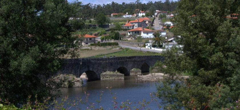 Ponte D. Zamiro near Vilarinho in northern Portugal
