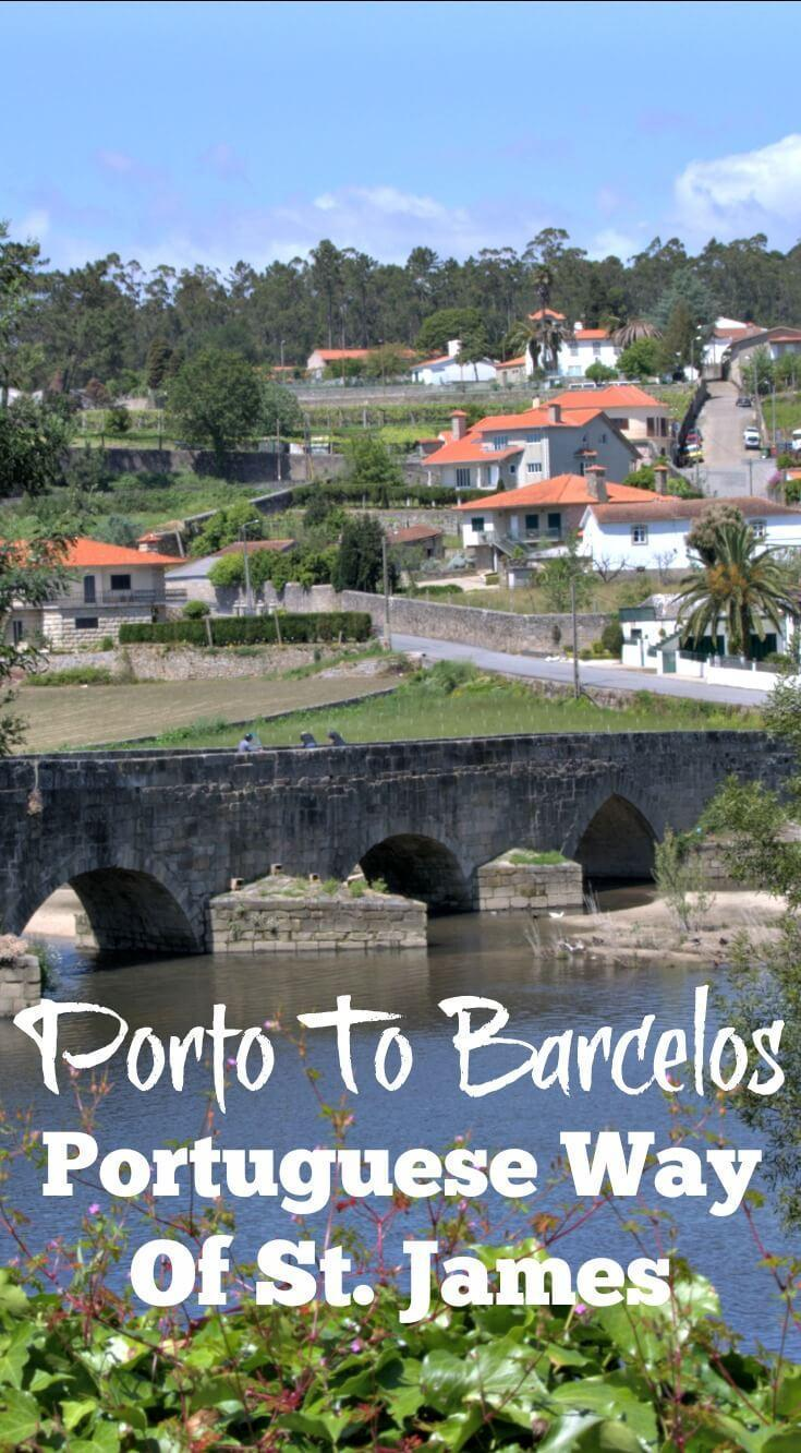 Porto To Barcelos. Portuguese Way of St. James