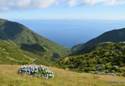 View from Serra do Topo, São Jorge island, Azores