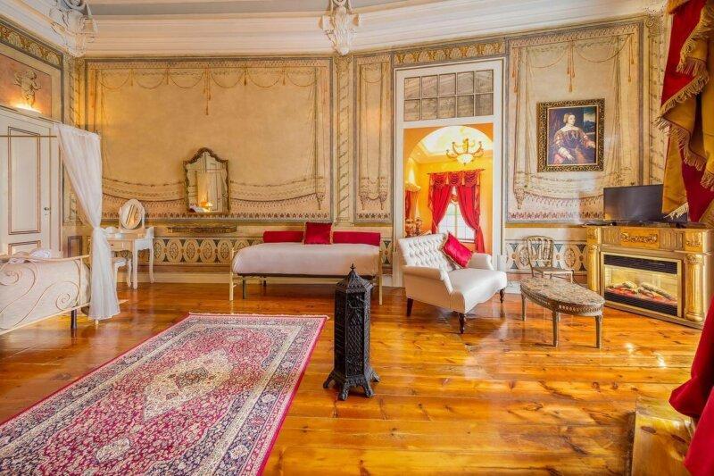 Bedroom Palácio das Especiarias Guesthouse in Lisbon