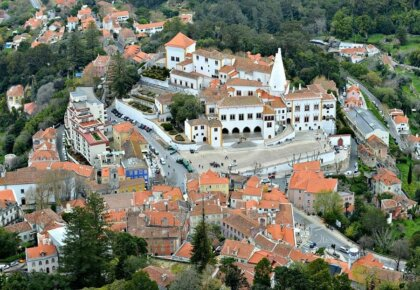 Best places to stay in Sintra Portugal. Best boutique hotels, Sintra guesthouses and other accommodation