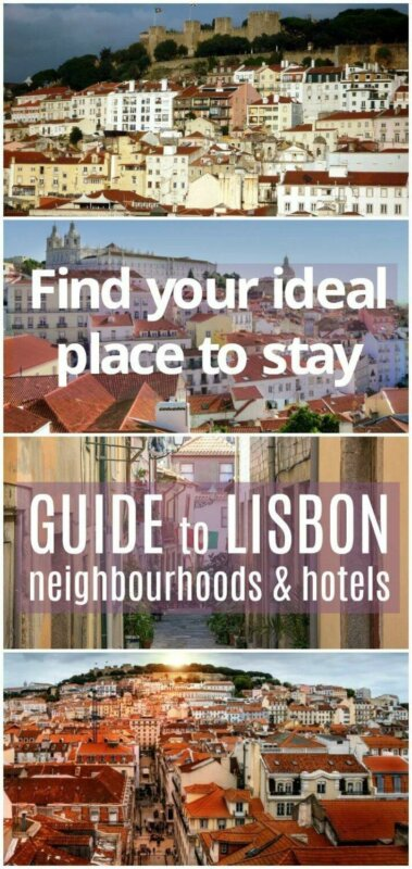 Lisbon neighbourhood and accommodation guide