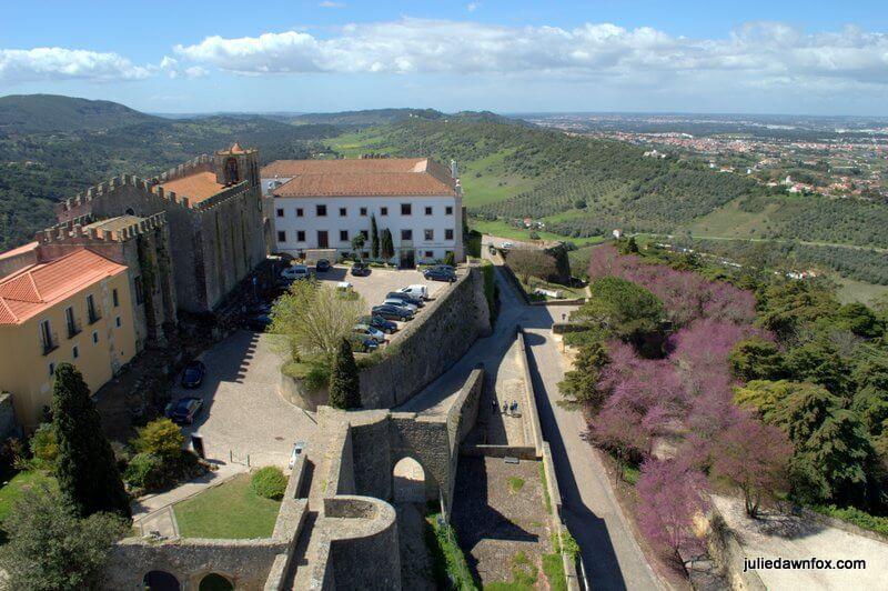 Palmela Castle, pousada and Serra da Arrábida