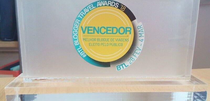 Best Travel Blog in Portugal. BTL Travel Blogger Awards 2018
