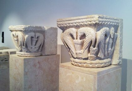 Roman sculptures at Museu Nacional Machado de Castro, Coimbra