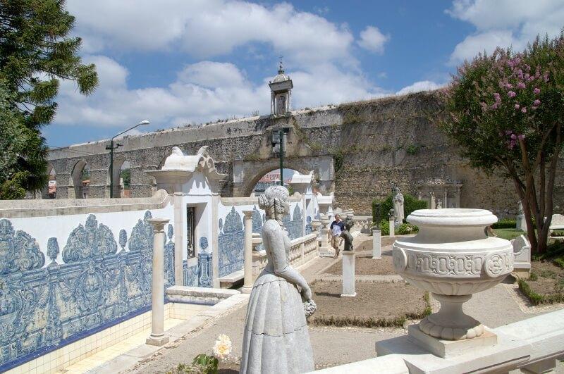 Sculpture garden, Casa-Museu Bissaya Barreto, Coimbra