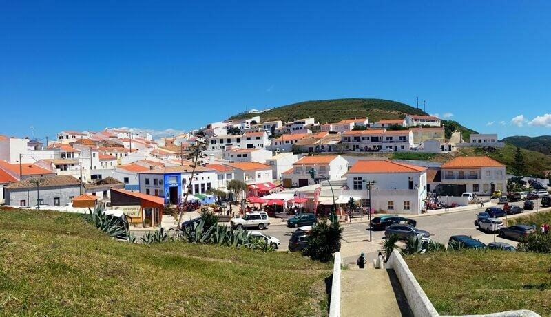Carrapateira village, western Algarve