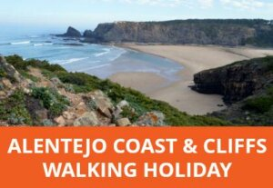 The unspoilt Alentejo coast offers incredible views and dramatic scenery. This 5-day walking holiday takes you from small sandy coves to wide golden beaches and cliff-backed shores, the coastline is ever-changing and immensely photo-worthy. (Customisable)