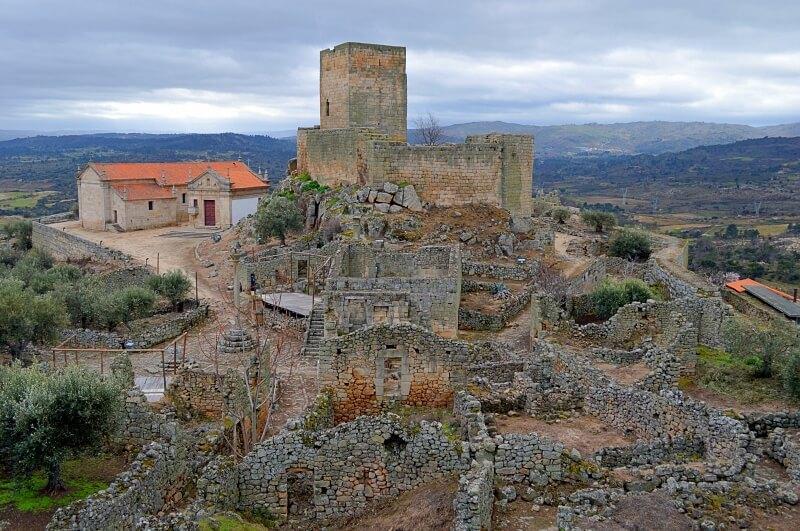 Inside the citadel, Marialva historical village