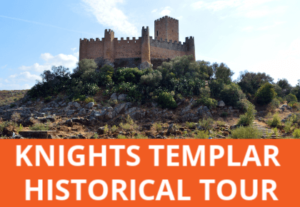 Delve into the fascinating past of the Knights Templar on a full day small group tour from Lisbon to Christ Convent in Tomar and Almourol Castle, reached by boat.