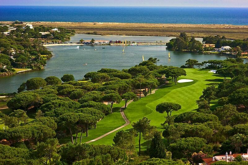 Quinta do Lago golf course, Algarve. Golf in Portugal