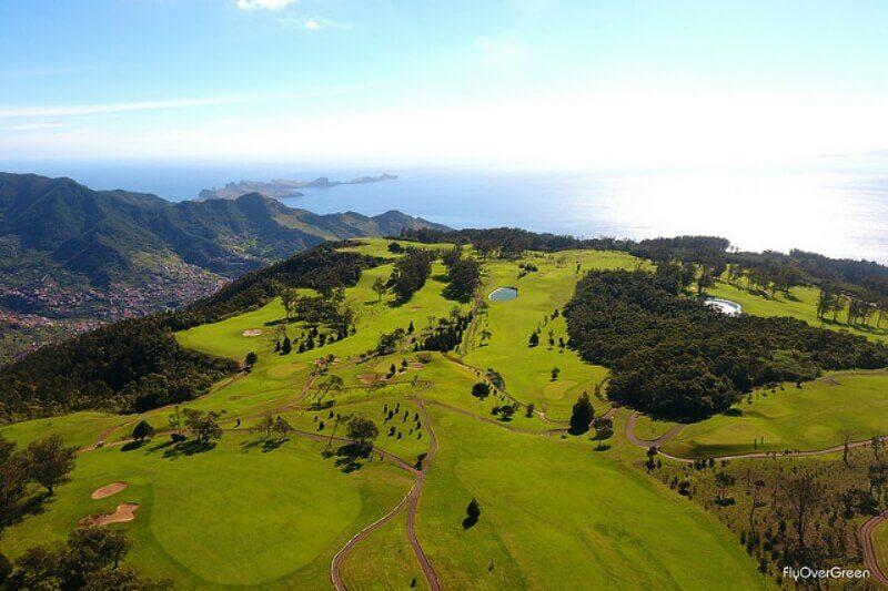 Santo da Serra golf course, Madeira Island