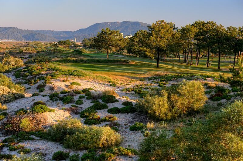 Troia golf course in the Lisbon area