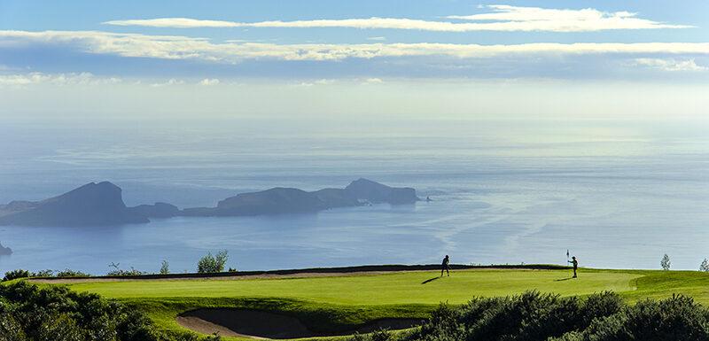 Santo da Serra golf course, Madeira. Photo by Peter Corden