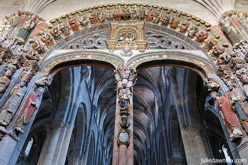 Portico da Gloria, Ourense Cathedral, Spain