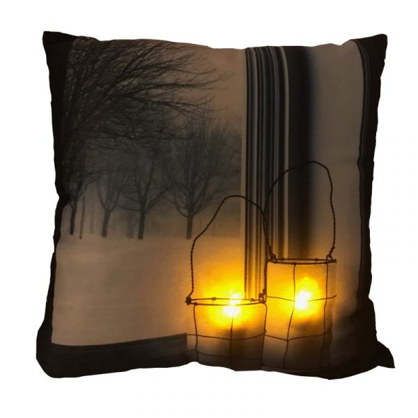 Night Time Lanterns LED Pillow by Ultimate Innovations