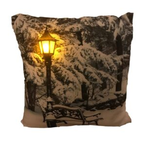 Night Time Park Bench LED Pillow by Ultimate Innovations