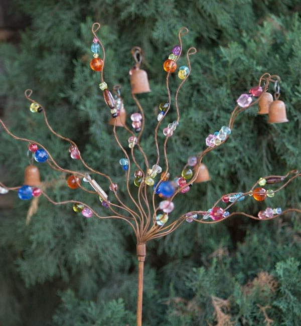 Beads and Bells Yard Décor is a beautiful addition to any landscaping.