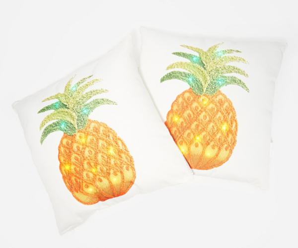 Pineapple LED Pillow by Ultimate Innovations