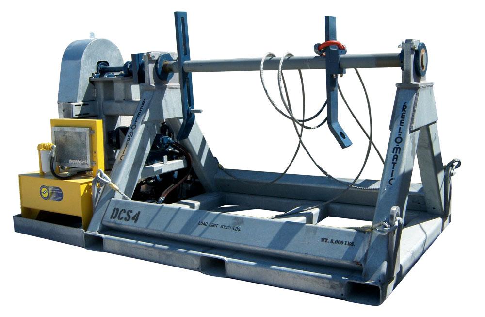 Diesel Cable Spooler Unit