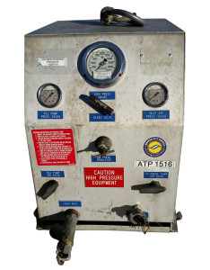 hydro static test pump