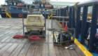 Air Compressor and Air Tugger on vessel