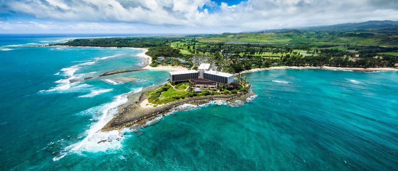 turtle bay resort oahu hawaii wedding video fisheye studio